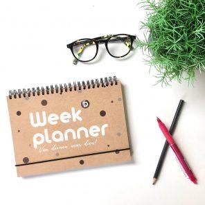 Weekplanner voor ondernemers